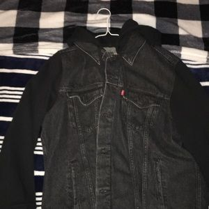 Levi's denim jacket/hoodie